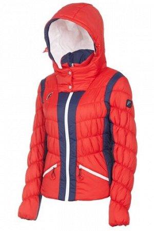 W08210G-RN182 Куртка утепленная женская (красный/синий), S, шт