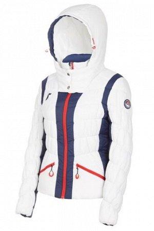W08211G-WN182 Куртка утепленная женская (белый/синий), XS, шт