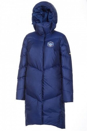 W08140G-NN182 Пальто пуховое женское (синий), S, шт