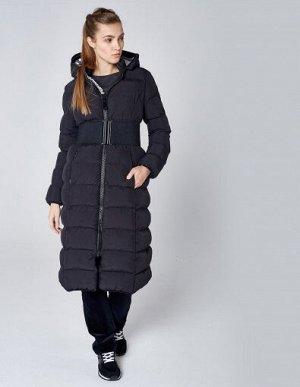 W08203FS-BB182 Пальто утепленное женское (черный), S, шт