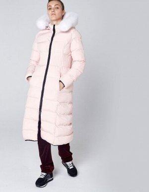 W08203FS-PP182 Пальто утепленное женское (розовый), S, шт