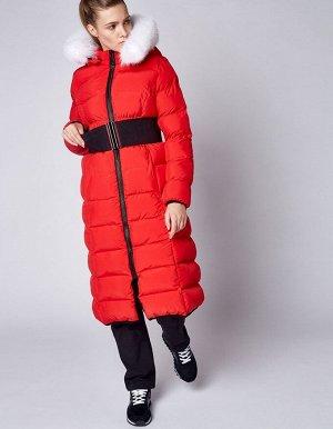 W08203FS-RR182 Пальто утепленное женское (красный), L, шт