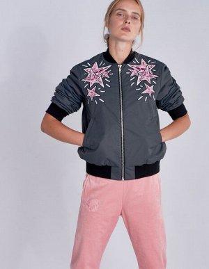 W08208FS-GG182 Куртка утепленная женская (серый), S, шт