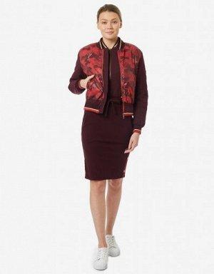 W08200SF-CR191 Куртка женская (бордовый/красный), S, шт