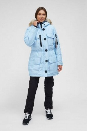 W08209FS-AA182 Куртка утепленная женская (голубой), L, шт