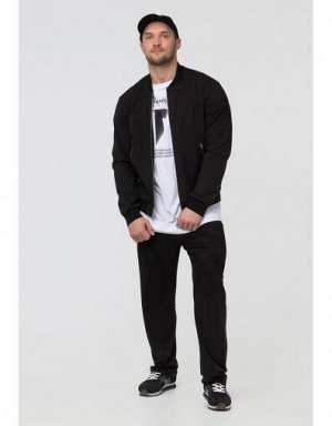 M09106FS-BW191 Куртка ветрозащитная мужская (черный/белый), L, шт