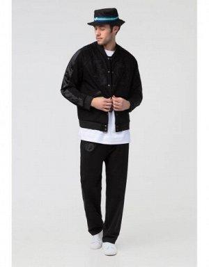 M09108FS-BB191 Куртка ветрозащитная мужская (черный), M, шт