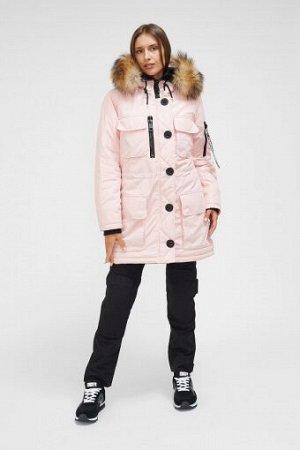 W08209FS-PP182 Куртка утепленная женская (розовый), M, шт