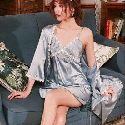 Шикарная домашняя одежда и обувь! — Женские халаты и сорочки — Халаты