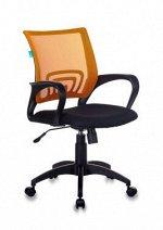 Кресло Бюрократ CH-695NLT оранжевый TW-38-3 сиденье черный TW-11 сетка/ткань крестовина пластик
