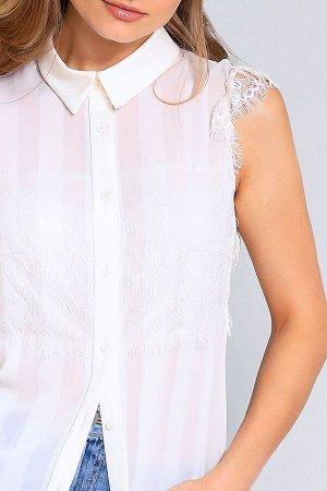 Блуза Блуза NOCHE MIO 6.684  Состав: Вискоза-34%; ПЭ-66%; Сезон: Весна-Лето Рост: 164  Блузка из лёгкого поливискозного полотна, приятного к телу, с изящными вставками из кружева.