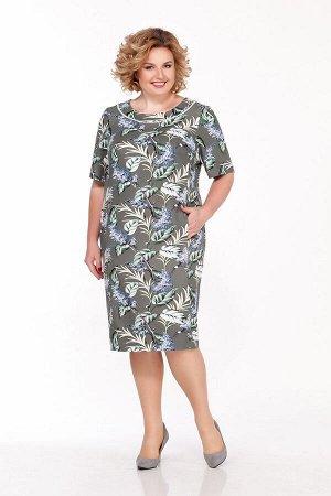 Платье LaKona 1193 хаки