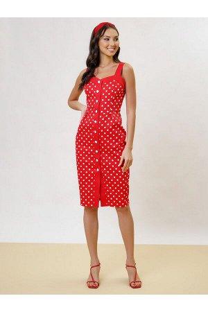 Платье арт. 1811-51425-1 красный