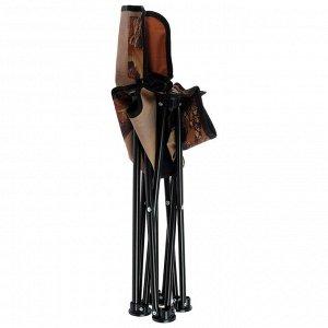 Стул складной «Премиум 2» ПСП2, 42 x 42 x 67 см, цвет хант/коричневый