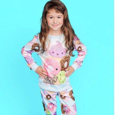 ✔Все в наличии❗️ Одежда для всей семьи / Товары для дома — ⭐ Костюмы домашние (пижамы) для девочек / СТИЛЯЖ ⭐  — Одежда для дома