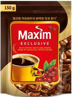 Кофе MAXIM Exclusive красно-корич пачка, 50г