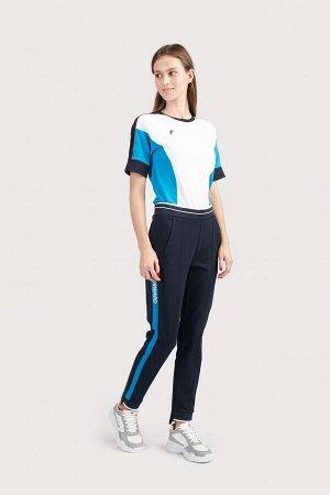 W05210G-NA201 Брюки спортивные женские (синий/голубой), XS, шт