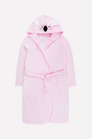Халат для девочки КБ 5606 нежно-розовый (коала)