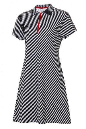 W13470SF-BB181 Платье Поло женское (черный/белый), 2XS, шт