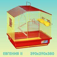 Клетка для птиц Евгения-2 большой поддон 39*29*38см