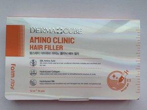 Farm Stay Dermacube Amino Clinic Hair Filler Филлер для волос с аминокислотами, 1шт*13мл