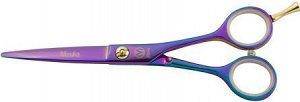"Mizuka ножницы парикмахерские pbs-sk36 purple titanium (5.5"") (а)"