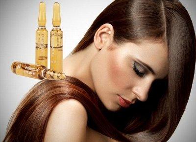 Парикмахерские штучки - Для мужчин! — Ампулы для волос, ламинирование — Восстановление и увлажнение