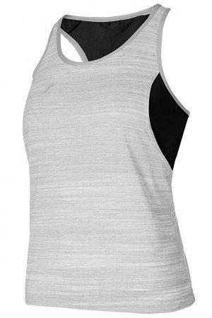 W14320F-GB182 Майка женская с внутренним бра (серый/черный), 2XS, шт