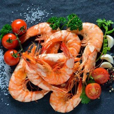 Кальмар 99 рублей за 1 кг… Мидии! Палтус! Креветка — Креветка северная 70/90! — Рыбные