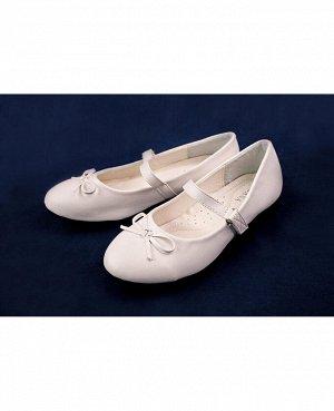 Туфли для девочки белые,размер 31-36 Цвет: белый