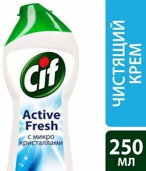 Cif чист. крем Актив Фреш (белый)250мл(дойпак)
