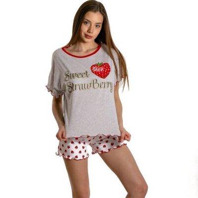 ◈ ДАМ*ИТ ◈ трикотаж для всей семьи — Женские пижамы — Сорочки и пижамы