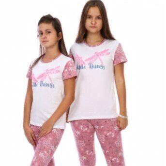 ◈ ДАМ*ИТ ◈ трикотаж для всей семьи — Трикотаж для подростков_пижамы — Одежда