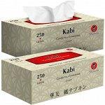 """Салфетки бумажные """"Maneki"""", серия Kabi, 2 слоя, 250 шт., 1 шт"""