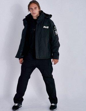 U09201FS-BB182 Куртка трансформер унисекс (черный), L, шт