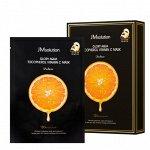 JMsolution Glory Aqua Tocopherol Vitamin C. Маска с витамином Е и С