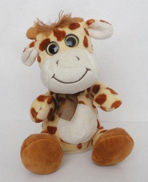 Интерактивная мягкая игрушка-повторюшка Жираф