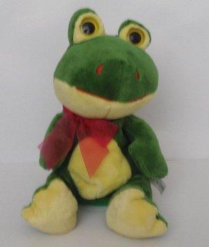 Интерактивная мягкая игрушка-повторюшка Лягушка
