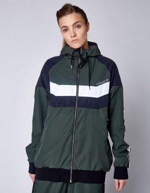U05101FS-HB182 Куртка спортивная унисекс (хаки/черный), L, шт