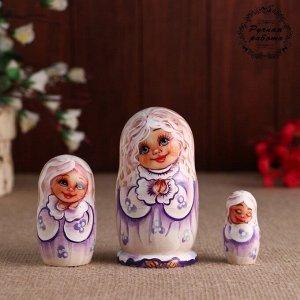 Матрёшка «Ангелочек», 3 кукольная, 11 см