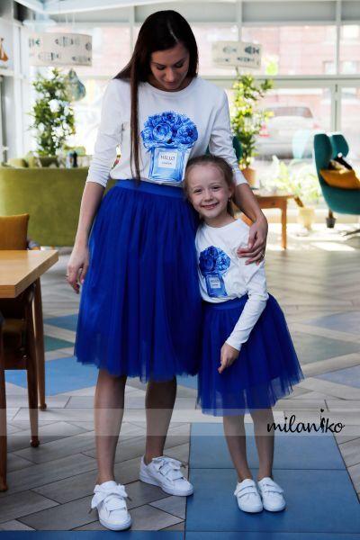 MILANIKO - дизайнерский family look — Комплекты Фемили лук — Для девочек