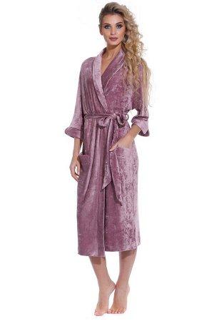 Домашний халат Toscana Цвет: Темно-Сливовый. Производитель: Peche Monnaie
