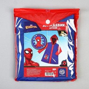 Дождевик детский, Человек-паук, размер M