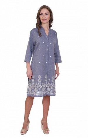 Рубашка-туника Netta Цвет: Серо-Голубой. Производитель: Ганг