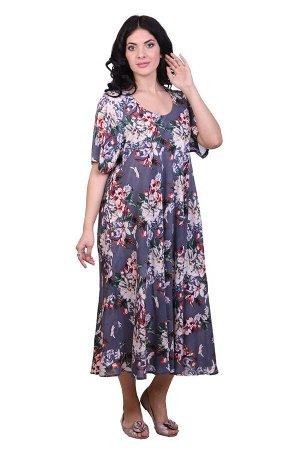 Платье Tricia Цвет: Серый, Мультиколор (48-54). Производитель: Ганг