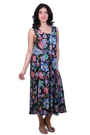 Платье Ansonia Цвет: Синий, Мультиколор (48-54). Производитель: Ганг