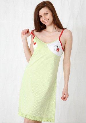 Ночная сорочка Eleonor Цвет: Зеленый. Производитель: Stella Due Gi
