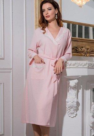 Домашний халат Vivien Цвет: Розовый. Производитель: Mia-Diva