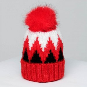 Шапка Snowy Цвет: Красный (54-56). Производитель: MINAKU