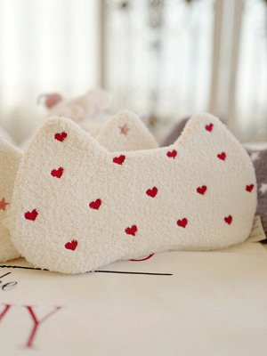 Маска для сна Сердечки Цвет Белый (one size)